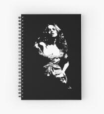 """""""Jess"""" Moonlight Cameo Art Spiral Notebook"""