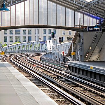 Paris Metro - Sevres-Lecourbe Station by Buckwhite