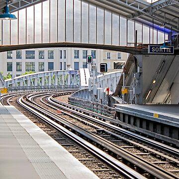 Paris Metro - Sevres-Lecourbe Station by Buckwhite