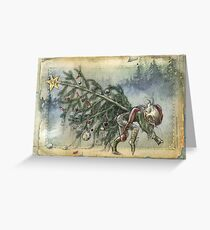 Stealing Christmas Greeting Card