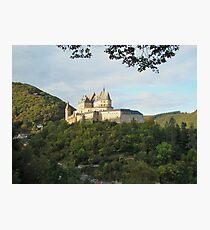 an unbelievable Luxembourg landscape Photographic Print