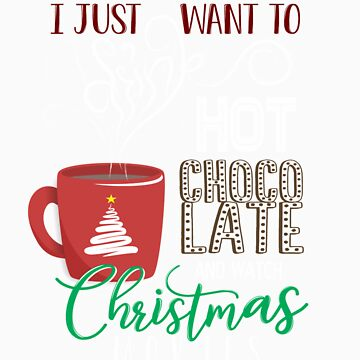 Hot chocolate and Christmas movies gift by LikeAPig