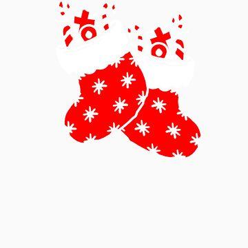 Christmas socks gift by LikeAPig