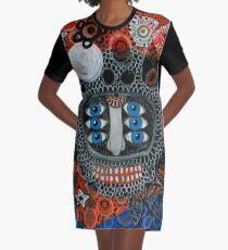 Masked Graphic T-Shirt Dress