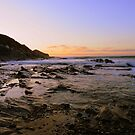 Cornwall: Last Light at Crackington by Rob Parsons