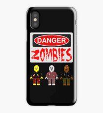 DANGER ZOMBIES iPhone Case