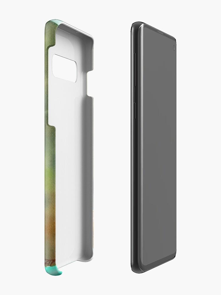 Alternate view of Cockatiel Case & Skin for Samsung Galaxy