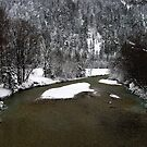 River Isar at Leutasch II by Daidalos