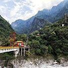 Taroko Tianxiang Pudu bridge by aaronchoi
