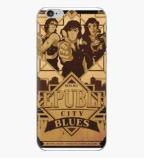 Republic City Blues iPhone-Hülle & Cover