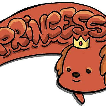 Hot Dog Princess from Adventure Time™ a Hot Dog Person of Royalty! by sketchNkustom