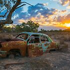A relic in a paddock by Toddy4x4