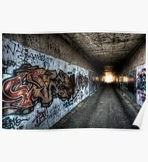 Graffiti in HDR Poster