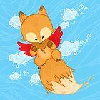 Flying fox by Khotekmei