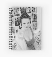 i woz 'ere Spiral Notebook