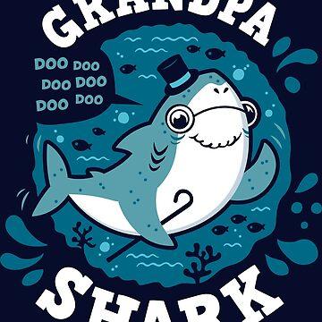 Grandpa Shark by Olipop