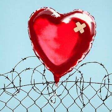 banksy - love hurt by streetartfans