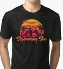 Visit Screaming Sun Tri-blend T-Shirt