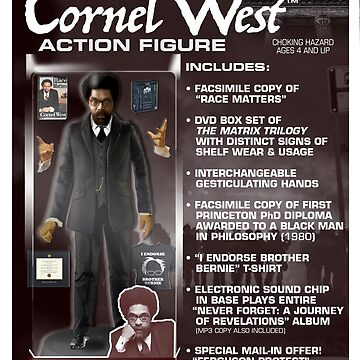 Cornel West Action Figure by GiantsOfThought