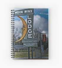 moon winx lodge Spiral Notebook