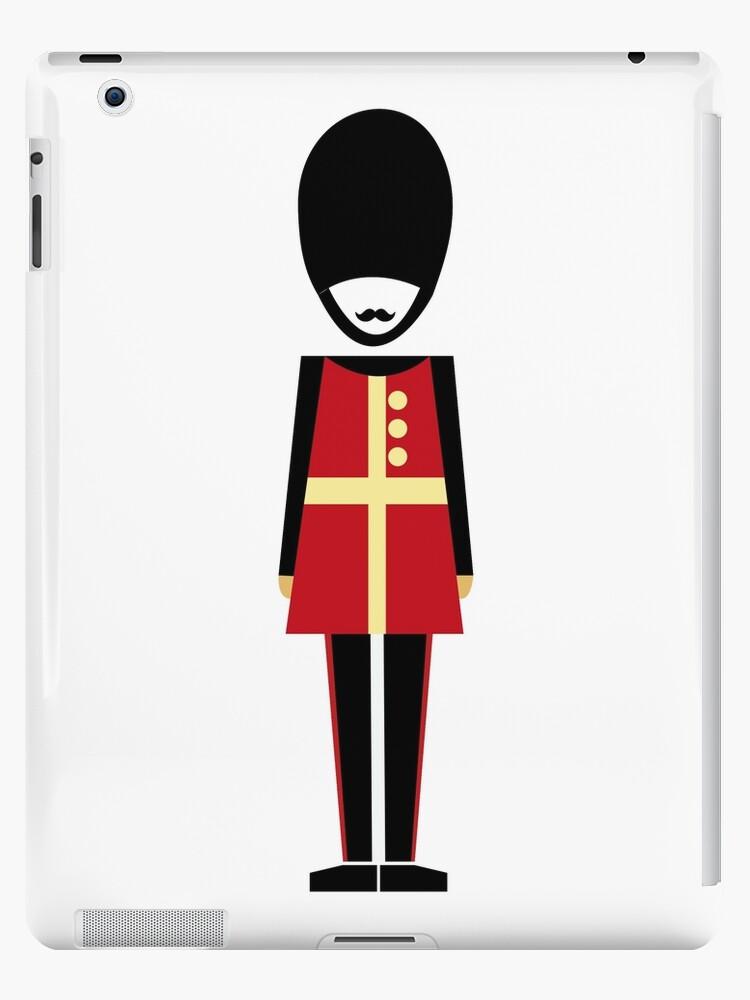 Soldier figure London design by lizmaydesigns