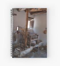 Mission San Jose Grist Mill Spiral Notebook