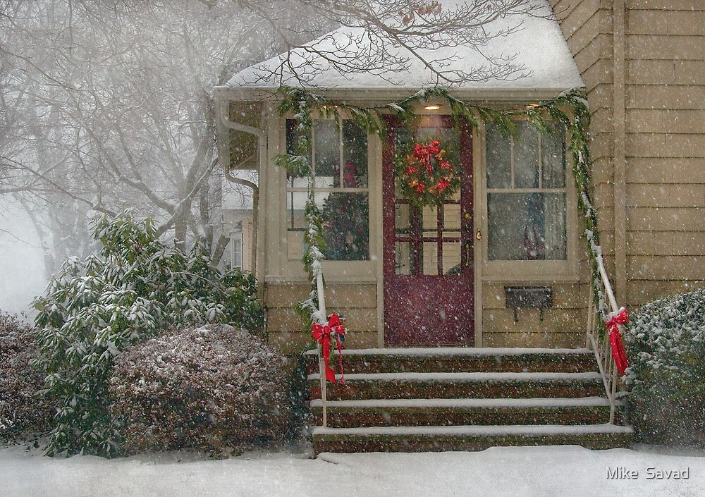 Winter - Dreaming of a White Christmas by Mike  Savad
