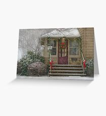 Winter - Dreaming of a White Christmas Greeting Card