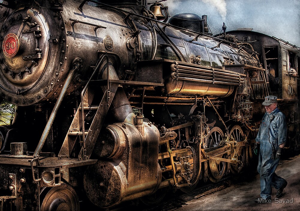 Train - Now boarding by Michael Savad