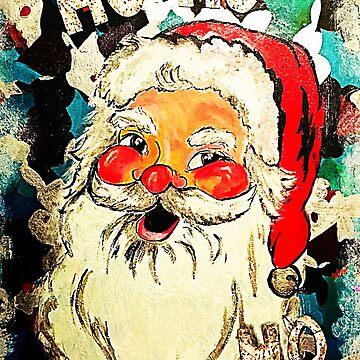 """Cheeky Santa """"Ho Ho Ho"""" by rrandj"""