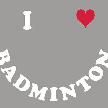 badminton by Vectorqueen