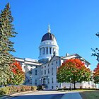 Augusta State House in Maine USA by AnnDixon