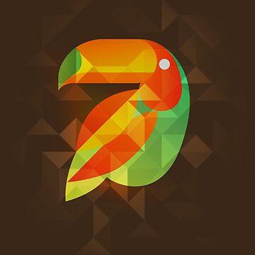 Birds - Tucano by leandrojsj