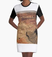 The Grand Canyon North Rim Series - 8 ©  Graphic T-Shirt Dress