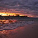 sunset at Amunuca Resort Fiji by Luke Donegan