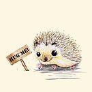 Hughog hedgehog by Bwiselizzy