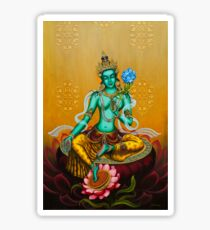 Green Tara Sticker
