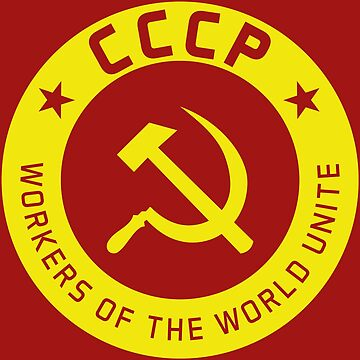 Communist Badge & Motto by Chocodole