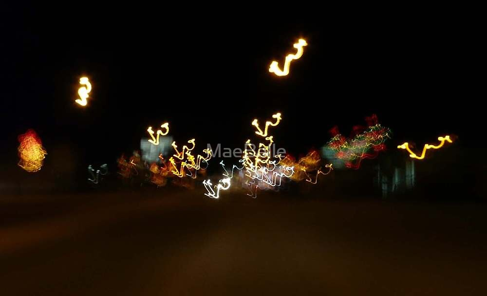 Ghosts of Christmas Past...Main Street,Nipawin Sask, by MaeBelle