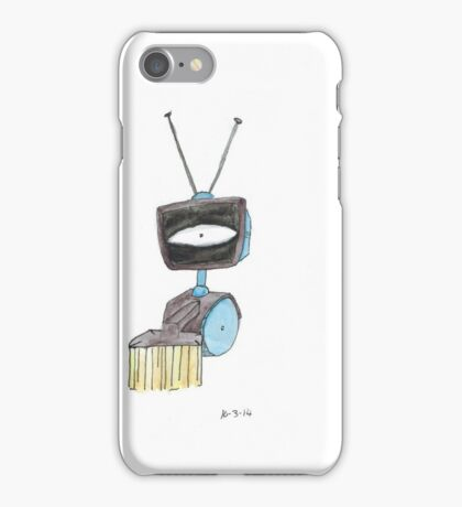 Sweeper bot iPhone Case/Skin