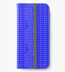 cable stitch iPhone Wallet/Case/Skin