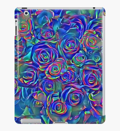 Roses of cosmic lights iPad Case/Skin