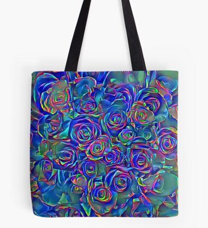 Roses of cosmic lights Tote Bag