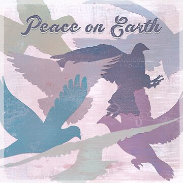 Peace on earth (doves) by MagpieMagic
