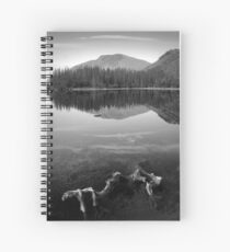My Scottish 'Ansel Adams' attempt... Spiral Notebook