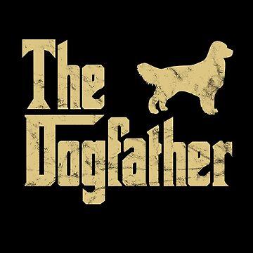 The Dog Father golden retriever godfather Parody by majuga