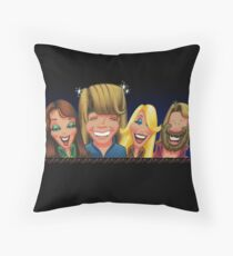 """Here 'we' are…"" Throw Pillow"