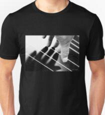 Hand Shadow on a Solar Panel T-Shirt
