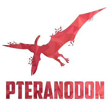 Pteranodon pterosaur flying dinosaur gift children's favorite animal by ArtOfCopenhagen