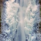 Lower Multnomah Falls, Portland, Oregon by Bob Hortman
